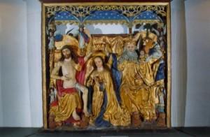 """Altarireljeef """"Maarja kroonimine"""""""